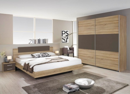 schlafzimmer komplett sonoma eiche online kaufen yatego. Black Bedroom Furniture Sets. Home Design Ideas