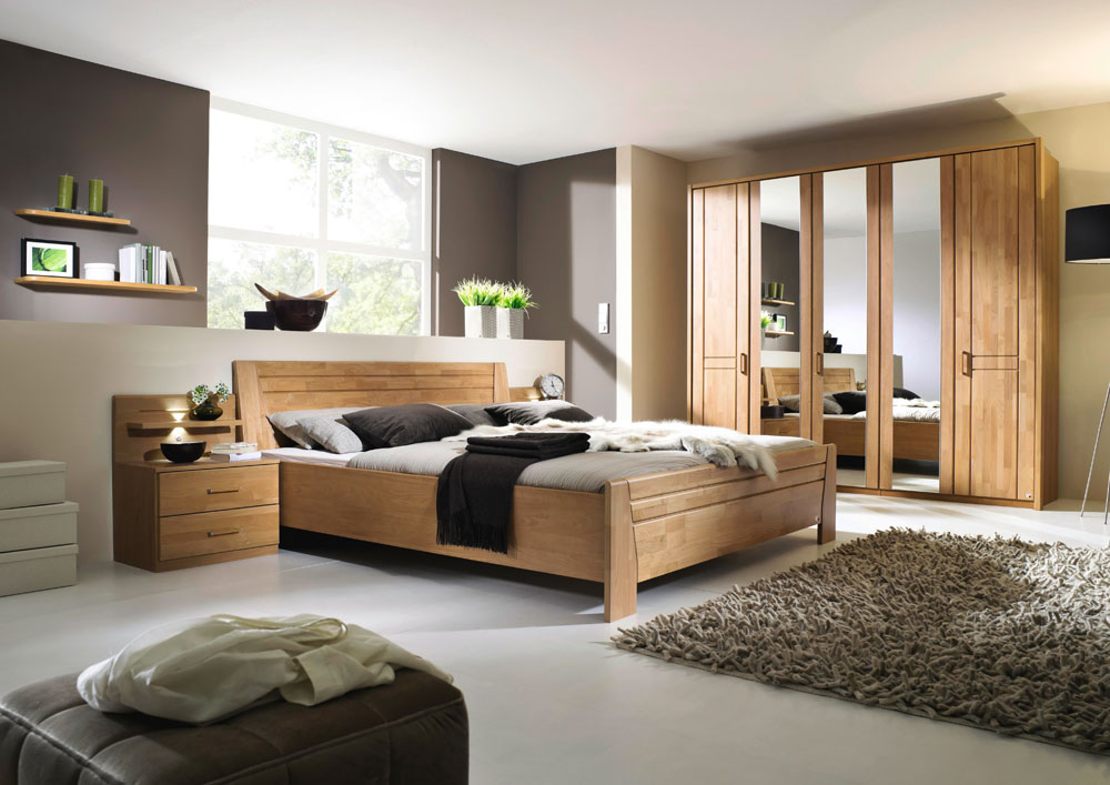 schlafzimmer in erle natur teilmassiv kaufen bei lifestyle4living m belvertrieb gmbh co kg. Black Bedroom Furniture Sets. Home Design Ideas