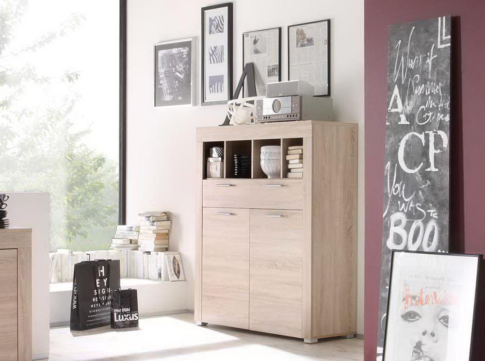 kommode eiche s gerau nachbildung kaufen bei. Black Bedroom Furniture Sets. Home Design Ideas
