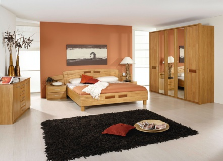 schlafzimmer in erle natur teilmassiv kaufen bei. Black Bedroom Furniture Sets. Home Design Ideas