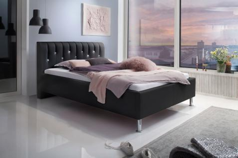 bett mit strass g nstig sicher kaufen bei yatego. Black Bedroom Furniture Sets. Home Design Ideas
