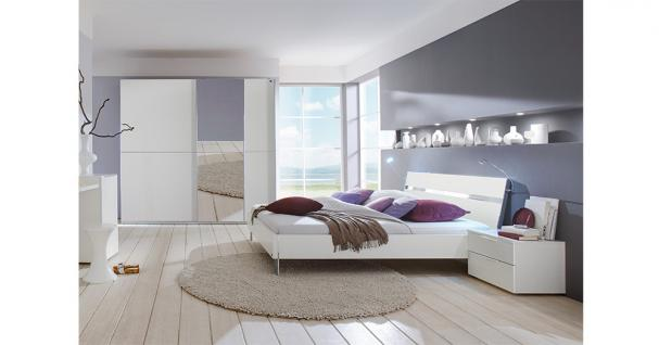 schlafzimmer alpinweiss online bestellen bei yatego. Black Bedroom Furniture Sets. Home Design Ideas
