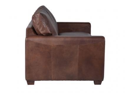 Clubsofa McQueen 2-Sitzer HALO Matador Nuez Vintage Leder - Vorschau 3