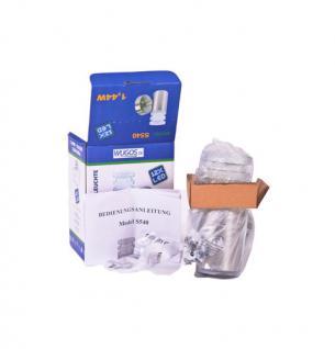 LED Aussen-Wandleuchte Diffusor Effektleuchte Wandlampe Lampe Stahl Wandlampe - Vorschau 4