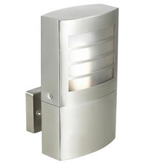 Lyon Außenlampe Außenleuchte Wandlampe Außenbeleuchtung Edelstahl Wandleuchte - Vorschau 1
