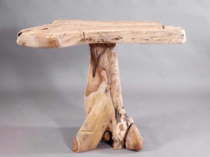 teakholz tisch bartisch stehtisch aus wurzelholz kaufen bei mehl wohnideen. Black Bedroom Furniture Sets. Home Design Ideas