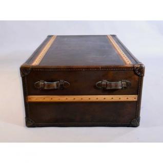 couchtisch richmond vintage leder holz kaufen bei mehl. Black Bedroom Furniture Sets. Home Design Ideas