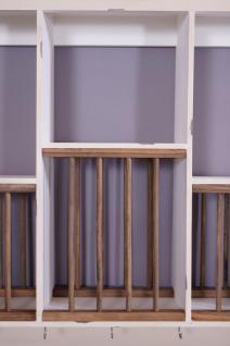 Geschirrregal Paris Holz Vintage Look creme weiß - Vorschau 5