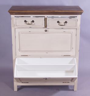 schuhschrank paris holz vintage look creme wei kaufen bei mehl wohnideen. Black Bedroom Furniture Sets. Home Design Ideas