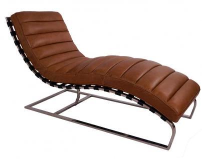 Relax-Liege Corona Columbia Brown Vintage Leder 1