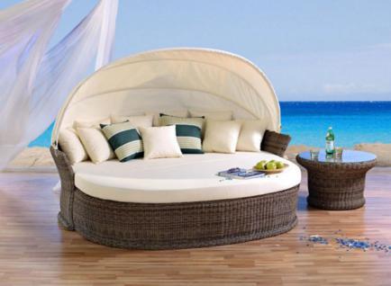 Atmungsaktive Schutzhülle für die Sonneninsel Venus Lounge
