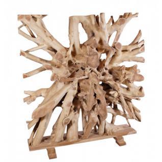 wohndekoration raumteiler aus massiver teakholz wurzel. Black Bedroom Furniture Sets. Home Design Ideas