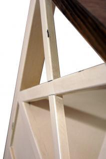 Couchtisch Loire Landhaus Stil Holz Vintage Look creme weiß - Vorschau 5