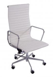 Bürostuhl Alu Chair Macro XL weiß