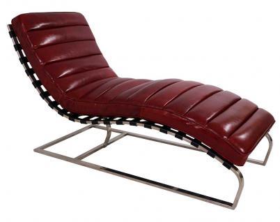 Design Relax-Liege Corona Royal Rouge Vintage Leder