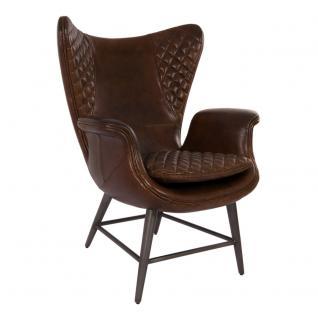 ohrensessel vintage leder g nstig kaufen bei yatego. Black Bedroom Furniture Sets. Home Design Ideas