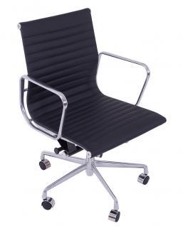 Bürostuhl Alu Chair Macro schwarz