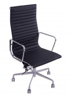 Bürostuhl Alu Chair Macro XL schwarz