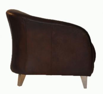 Clubsessel Bari Vintage-Leder - Vorschau 2