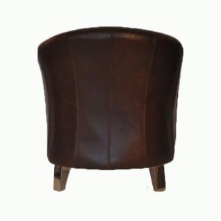 Clubsessel Bari Vintage-Leder - Vorschau 3
