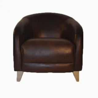Clubsessel Bari Vintage-Leder - Vorschau 4