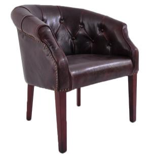 Clubchair Hightown im Chesterfield-Look Napalonleder (Kunstleder) 1