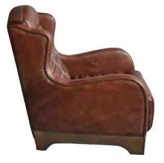 ohrensessel ripley vintage leder aluminium kaufen bei. Black Bedroom Furniture Sets. Home Design Ideas