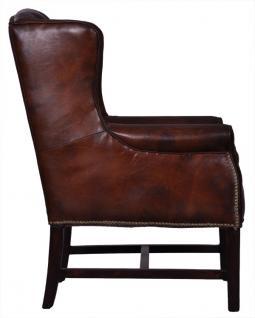 clubsessel rocket vintage leder hell kaufen bei mehl wohnideen. Black Bedroom Furniture Sets. Home Design Ideas
