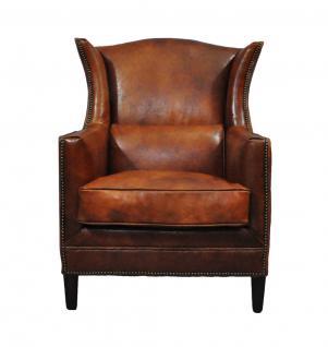 ohrensessel syston vintage leder kaufen bei mehl wohnideen. Black Bedroom Furniture Sets. Home Design Ideas