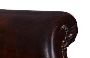 Clubsessel Columbo Vintage-Leder - Vorschau 4