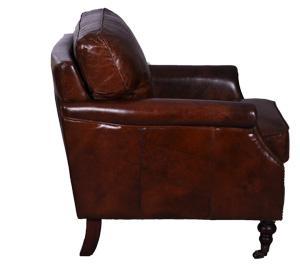 Clubsessel Columbo Vintage-Leder - Vorschau 2