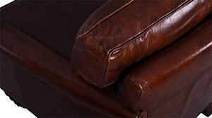 Clubsessel Columbo Vintage-Leder - Vorschau 5