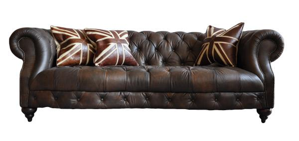 castlefield dark sofa 3 sitzer chesterfield stil kaufen bei mehl wohnideen. Black Bedroom Furniture Sets. Home Design Ideas