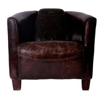 clubsessel rocket vintage leder kaufen bei mehl wohnideen. Black Bedroom Furniture Sets. Home Design Ideas