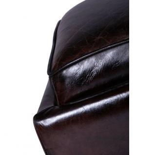Fußhocker Cincinnati Vintage-Leder - Vorschau 2