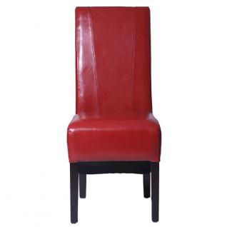 Esszimmerstuhl Stuhl Klassik rot - Vorschau 2