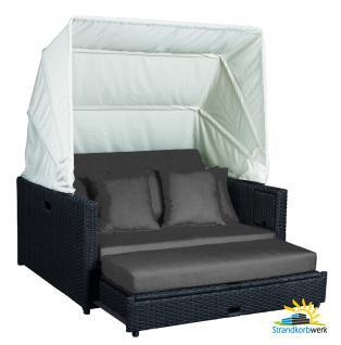 polyrattan lounge gartenmoebel grau online kaufen yatego. Black Bedroom Furniture Sets. Home Design Ideas