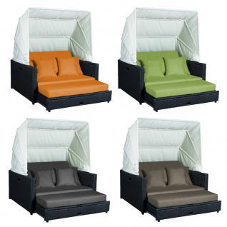BEZÜGE für Polsterauflage und Bezüge für Kissenset in orange für die Liegeinsel Beach Lounge - Vorschau 2