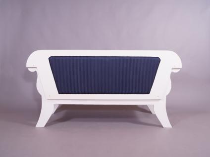 biedermeier sofa 3 sitzer wei blau kaufen bei mehl wohnideen. Black Bedroom Furniture Sets. Home Design Ideas