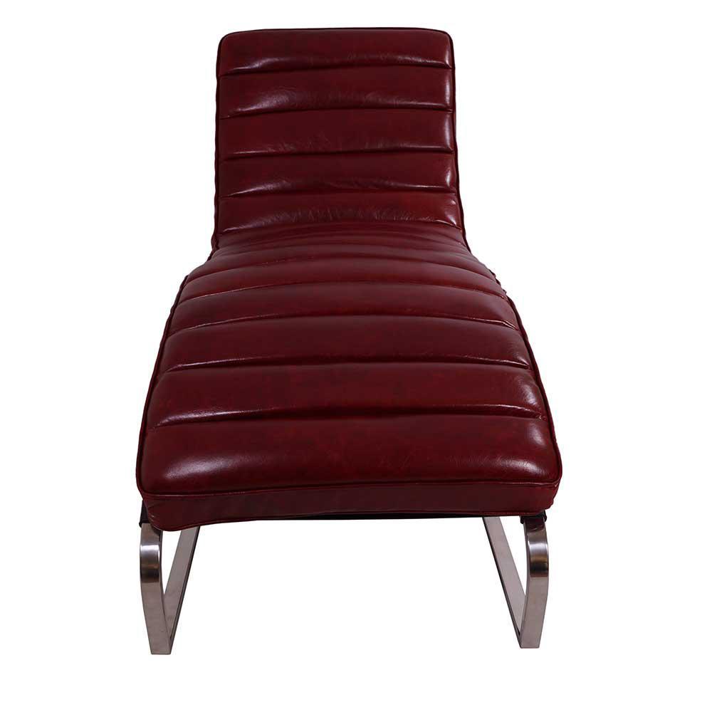 design relax liege corona royal rouge vintage leder. Black Bedroom Furniture Sets. Home Design Ideas