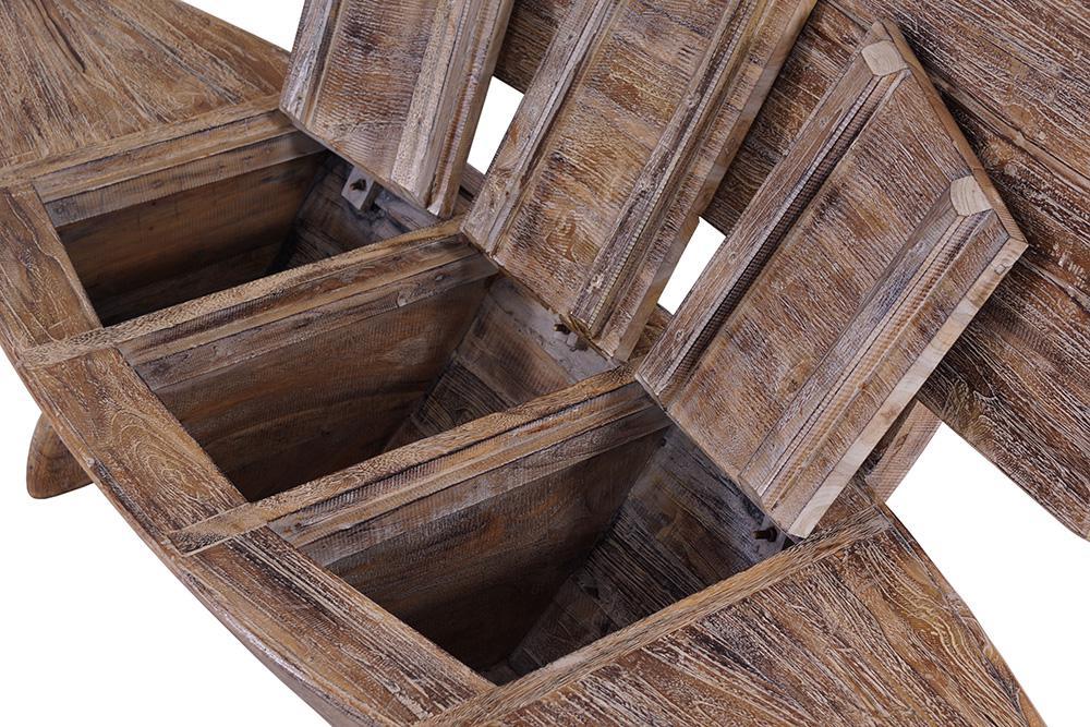 teakholz bootsbank white wash kaufen bei mehl wohnideen. Black Bedroom Furniture Sets. Home Design Ideas