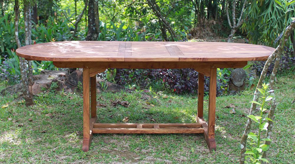 tisch capri 160 cm teakholz kaufen bei mehl wohnideen. Black Bedroom Furniture Sets. Home Design Ideas