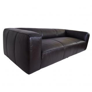 Clubsofa Dublin Belon Black 3-Sitzer Sofa Couch