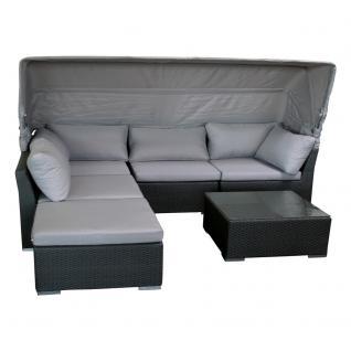 Cabbana Sitzgruppe Loungegruppe Grau