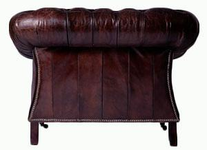 Clubsessel Chesterfield Vintage-Leder 4