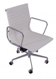 Bürostuhl Alu Chair Macro weiß