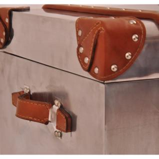 Truhe Smallford Vintage Aluminium - Vorschau 5