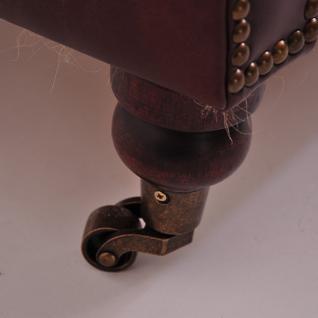 Ohrensessel Poole Vintage Leder - Vorschau 4