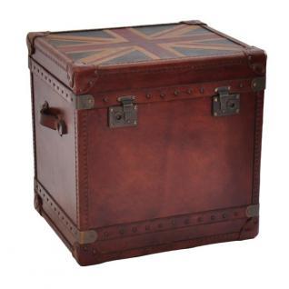 Truhe Union Box Reisetruhe mit Union Jack-Design