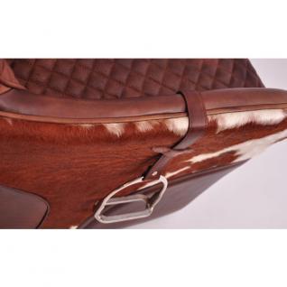 Designsessel Greenfield Vintage-Leder Kuhfell - Vorschau 5